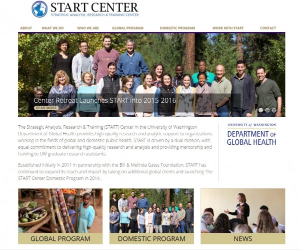New START Center Website Revealed