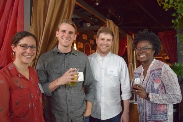 Current START Research Assistants Ronit Abramson, Andrew Kwist, Brian Conley, and Danae Black