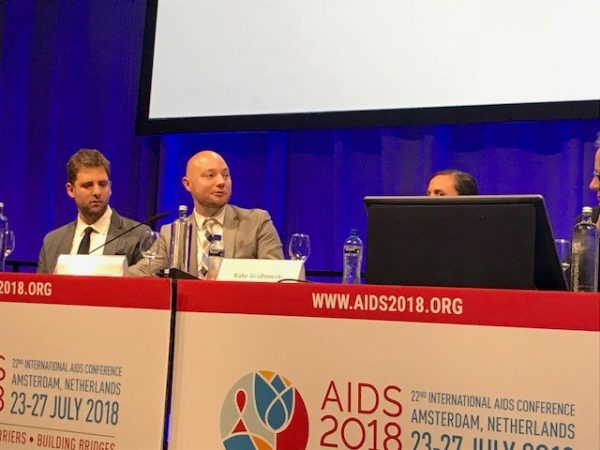START RESEARCH ASSISTANT PRESENTS AT AIDS 2018 CONFERENCE