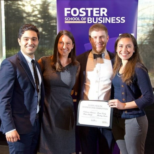 START RAs Earn First Place in Global Health Business Case Competition